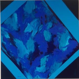 Abstract II geloof ook eens in blauw